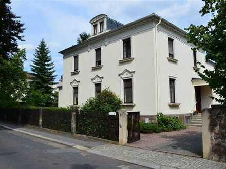 Stilvolles Domizil, repräsentative Villa in bester Lage von Radebeul-Ost