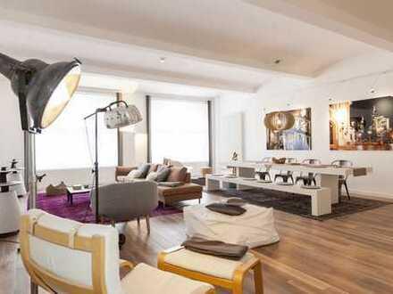 Bahnhofsviertel: Luxus-Loftwohnung mit 3 Schlafzimmern, komplett möbliert