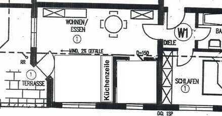 Freundliche 3-Zimmer-EG-Wohnung mit Balkon in Beilstein