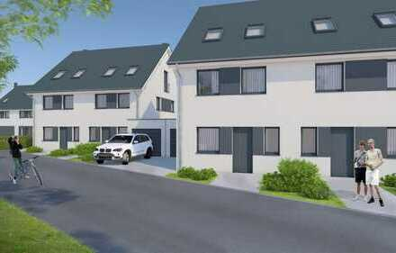 Schlüsselfertiges Doppelhaushälfte ca.143 m² Wfl mit Kaminanschluss.