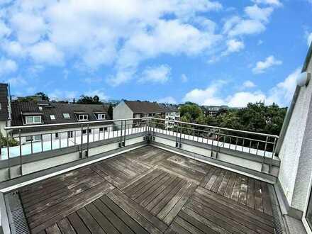 Genießen Sie Ihr Zuhause - traumhafte 5-Zi-Wohnung mit 2 Terrassen - Mülheim-Broich!