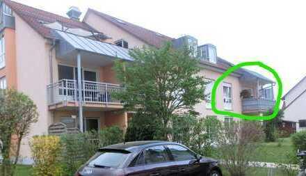 Stilvolle, gepflegte 3-Zimmer-Wohnung mit Balkon in Rain