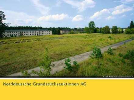 Potenzialfläche für einen Solarpark (ehem. Kaserne) in 17367 Eggesin