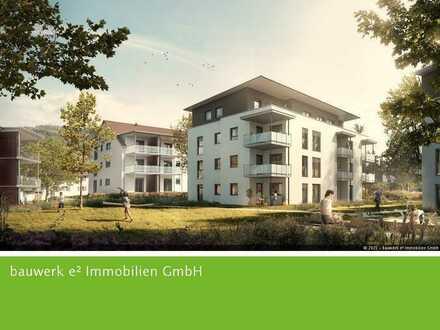 EFFIZIENTE 3-Zimmer-Neubauwohnung für alle Altersklassen in der grünen Ortsmitte