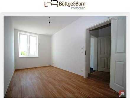 4 Zimmer Wohnung, Laminat, Fußbodenheizung, Balkon, Bad mit Wa&Du, Garage!