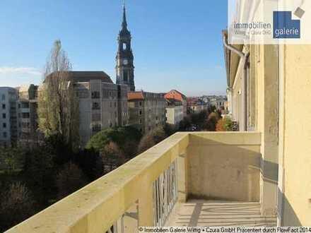 Wohnen mitten im Königstraßenviertel mit Blick zur Dreikönigskirche