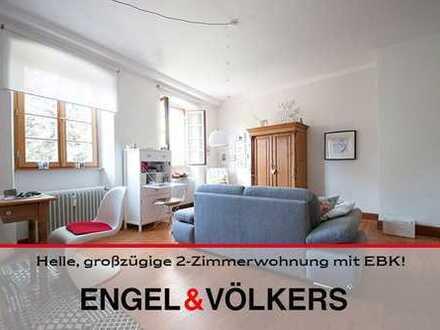 Helle, großzügige 2-Zimmerwohnung mit EBK!