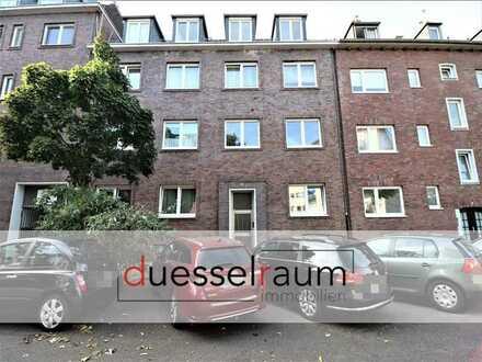 Oberbilk: gut geschnittene ca. 63 m² große 2- Zimmerwohnung mit Loggia in zentraler Lage