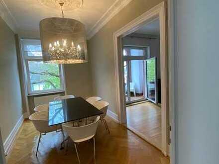 Exklusive, neuwertige 5-Zimmer-Wohnung mit 2xBalkon und EBK in Frankfurt am Main