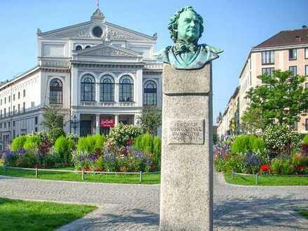 """BEST PLACE IN TOWN Große 2 Zi-Stadtwohnung. Mit Balkon u. Einbauküche. Am Gärtnerplatz - im """"COR 4"""""""