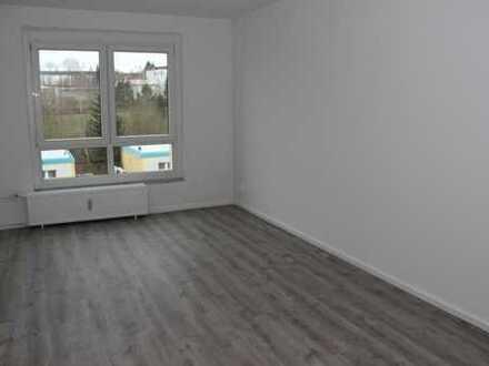 Große modern renovierte 2-Zimmer-Wohnung im 3.OG mit traumhaftem Weitblick in Plauen (Chrieschwitz)