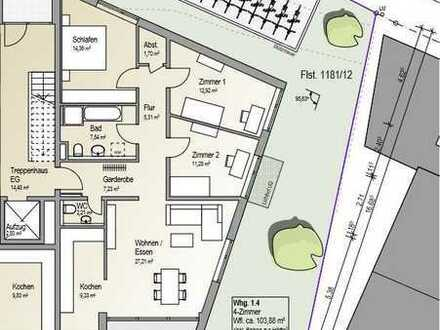 Top 4 Zimmer Wohnung in Radolfzell Weinburg zu vermieten