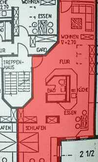 Gepflegte 3-Zimmer-Terrassenwohnung mit Balkon in Gunzenhausen