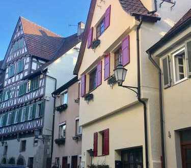 Einzigartiges Haus mitten in der Schorndorfer Altstadt - mit großer Dachterasse