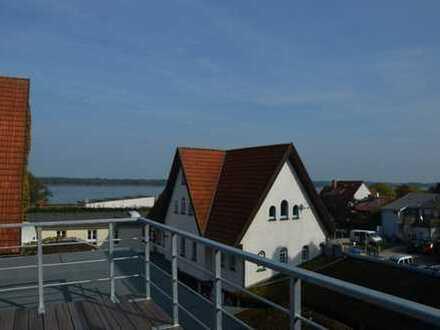 Dachterrassse und unverbauter Boddenblick - wohnen Sie exklusiv im Zentrum von Ribnitz