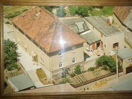 Mehrfamilienhaus mit 3 Wohneinheiten und Blick auf die Berge nahe Gera