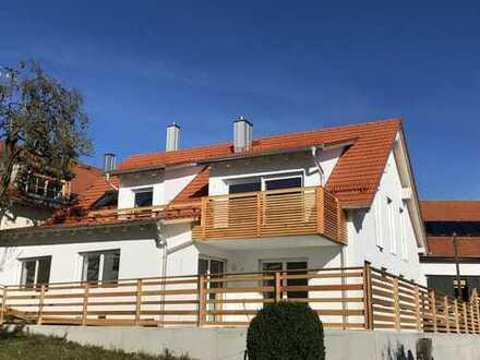 Zwei-Generationen-Haus bei Landsberg am Lech, Idylle an der Pfarrwiese, 40min von München