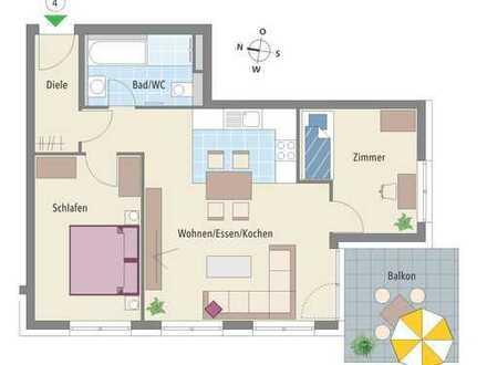 Wohnen am Neckar in Gemmrigheim - Wohnung mit Süd-Westausrichtung!
