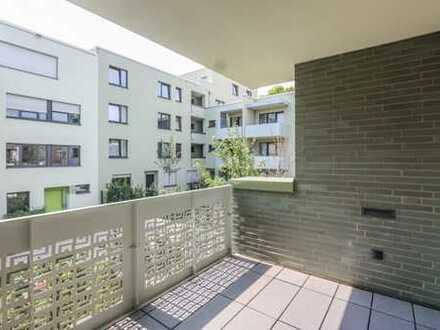 REUTER IMMOBILIEN Neubaukomfort: Helle Dreizimmerwohnung mit Sonnenbalkon in Ruhiglage in Ehrenfeld