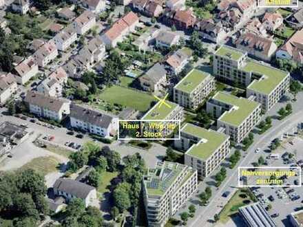 Erstbezug: 3-Zimmer-Wohnung mit Balkon in Ladenburg ab 01.11.2019