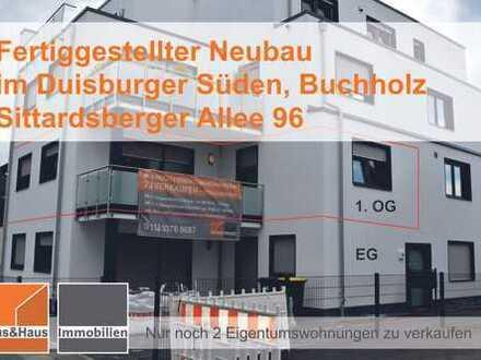 ACHTUNG+Duisburger Süden - ETW 2 Zimmer mit Terrasse - PROVISIONSFREI