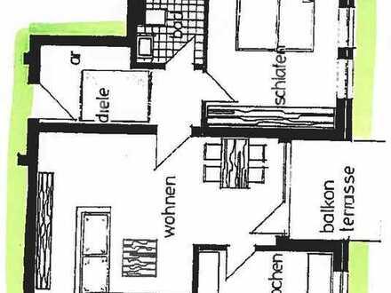 Freundliche 2-Zimmer-Erdgeschosswohnung mit Terrasse in Brandenburg - Fürstenwalde (Spree)
