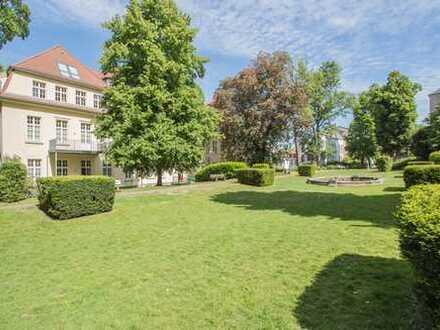 """Charmante Erdgeschosswohnung mit traumhafter Parkanlage im Wohnquartier """"Arrenberg'sche Höfe"""""""