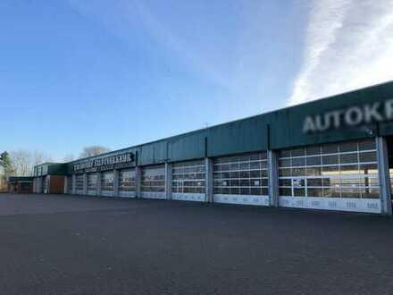 Sehr ordentliche Gewerbehalle/n, Werkstatt und Büroräume in bester Qualität!