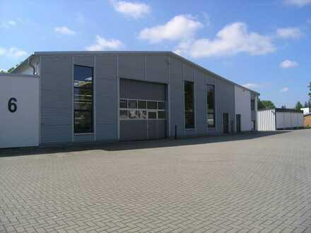 Moderne und vielseitig nutzbare Industriehalle in Nienburg zu mieten