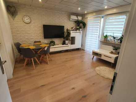 Exklusive, vollständig renovierte 4-Zimmer-Wohnung mit Balkon und EBK in Lahr