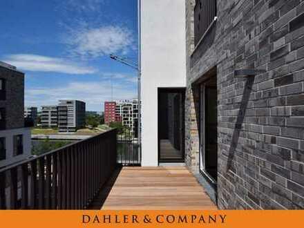 Direkt am Hafen:  Edles Wohnobjekt mit Luxusküche und Südwestbalkon