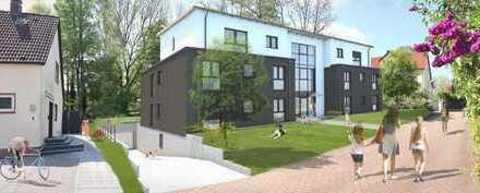 Wohnung in attraktivem Neubau mit West-Balkon und Blick ins Grüne