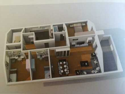 4-5 Zimmer- Wohnung mit schönem Balkon und Keller in Wurmberg