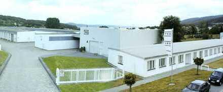 Bebautes, gut angebundenes und ausbaufähiges Gelände mit modernen Produktionshallen und Verwaltung