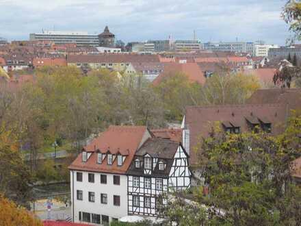Exklusive, modernisierte 2-Zimmer-Wohnung in der Nürnberger Altstadt