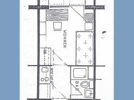 1-Zimmer-Appartement - Nur für Studenten - EBK, Loggia, - ZILLIG IMMOBILIEN MIETVERWALTUNG