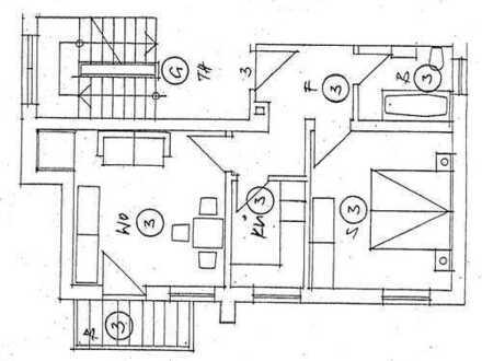Frei zum Mai 2020 - sehr ruhige und zentrale TOP Stadtlage - 2 Zim. Wohnung mit Balkon