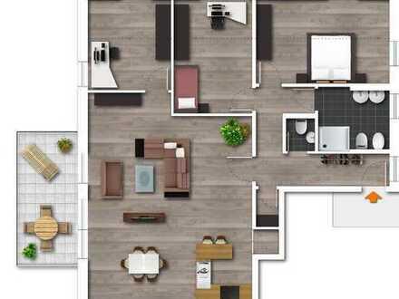 Neubau- Großzüge 4,5 Raum-Wohnung in sehr guter Lage von Bergerhausen
