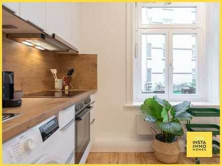 Hochwertig möblierte 2-Zimmerwohnung in Winterhude (WLAN inklusive)