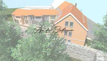 """2 Zimmer Dachgeschoss Wohnung im Neubauprojekt """"An der Stadtmauer"""" in Strausberg"""