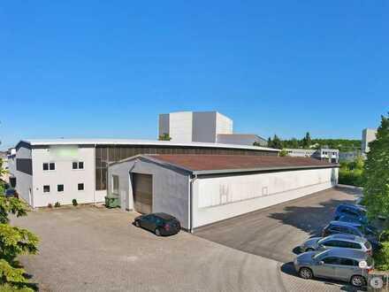 Produktionshalle und Bürogebäude im Gewerbegebiet Illingen-Ost