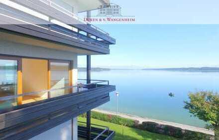 Seltenes Loft. Traumhafter rundum Blick auf den Starnberger See.