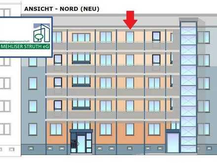Barrierearme 2-Raumwohnung mit Aufzug und großem Balkon