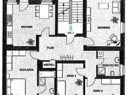 *ToP* 4- Raum Wohnung mit Balkon, zwei Bädern und Stellplatz**