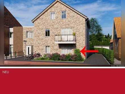 Individuelle Erdgeschosswohnung in Heek sucht neuen Besitzer