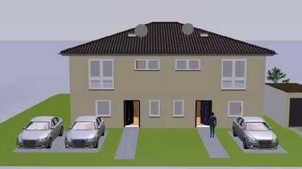 Moderne, neue Doppelhaushälfte im Neubaugebiet Roter Rain, Haus 3 mit Garage, kurzfristig bezugsfert