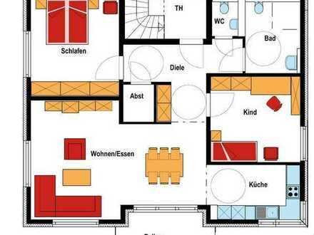 Erstbezug Neubau 3 Zimmer EG Wohnung mit Küche, Balkon und Stellplatz (Barrierefrei)