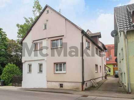 Gestaltungspotenzial: 6-Zi.-DHH mit großem Dachboden nahe Stuttgart