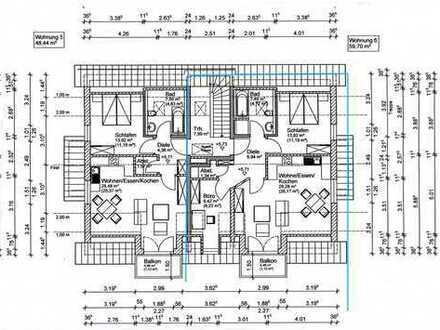 Langenpreising - NEUBAU 2,5-Zimmer-Wohnung zu vermieten