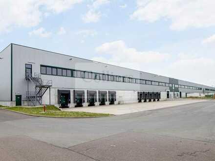 sofort verfügbar | 10.117 m² moderne Logistikfläche | 10 Docks | Erfurt-Stotternheim